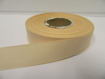 Nude Light Beige Grosgrain ribbon Ribbed Double sided, 3mm, 6mm 10mm 16mm 22mm 38mm 50mm